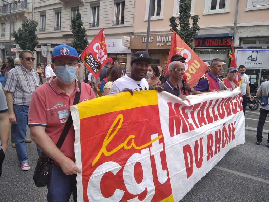 Belle manifestation ce jeudi 17 juin pour l'emploi et pas contre les chômeurs