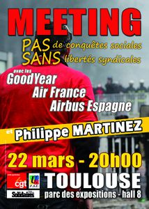 MEETING LE 22 MARS A TOULOUSE
