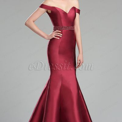 2 Off the Shoulder Prom Dresses For Christmas