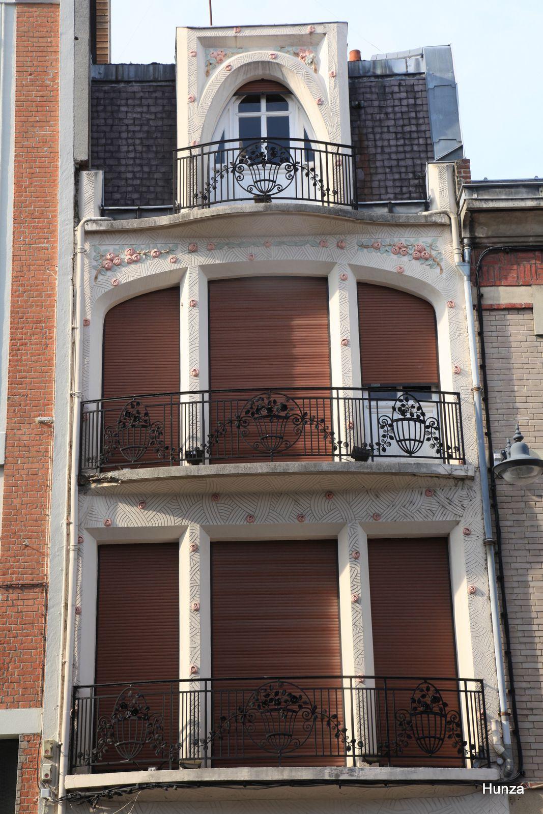Maison Art Déco à Saint-Quentin au n° 11 de rue de la Sous-Préfecture