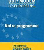 Programme UDI - MoDem Les Européens | Intégralité