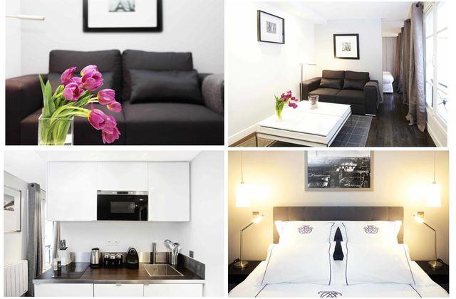 Un chouette appartement au coeur de Paris... dès 1 nuit !