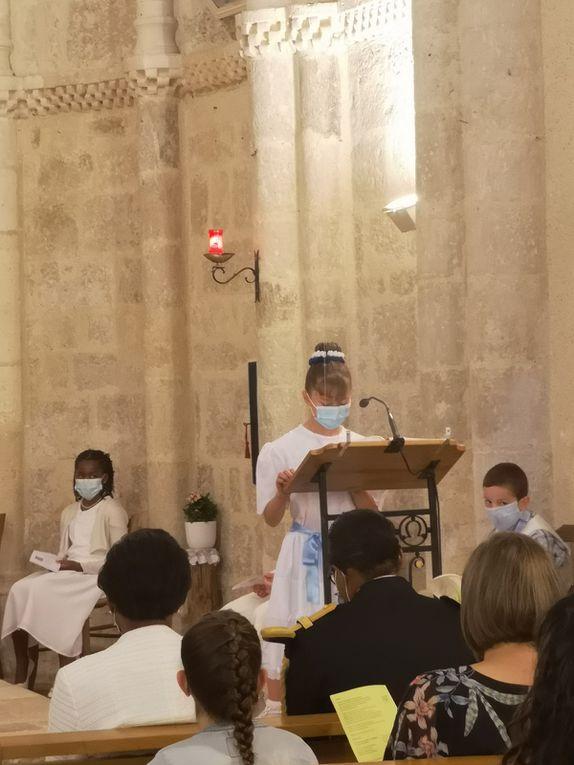 première communion Artigues 6-06-21