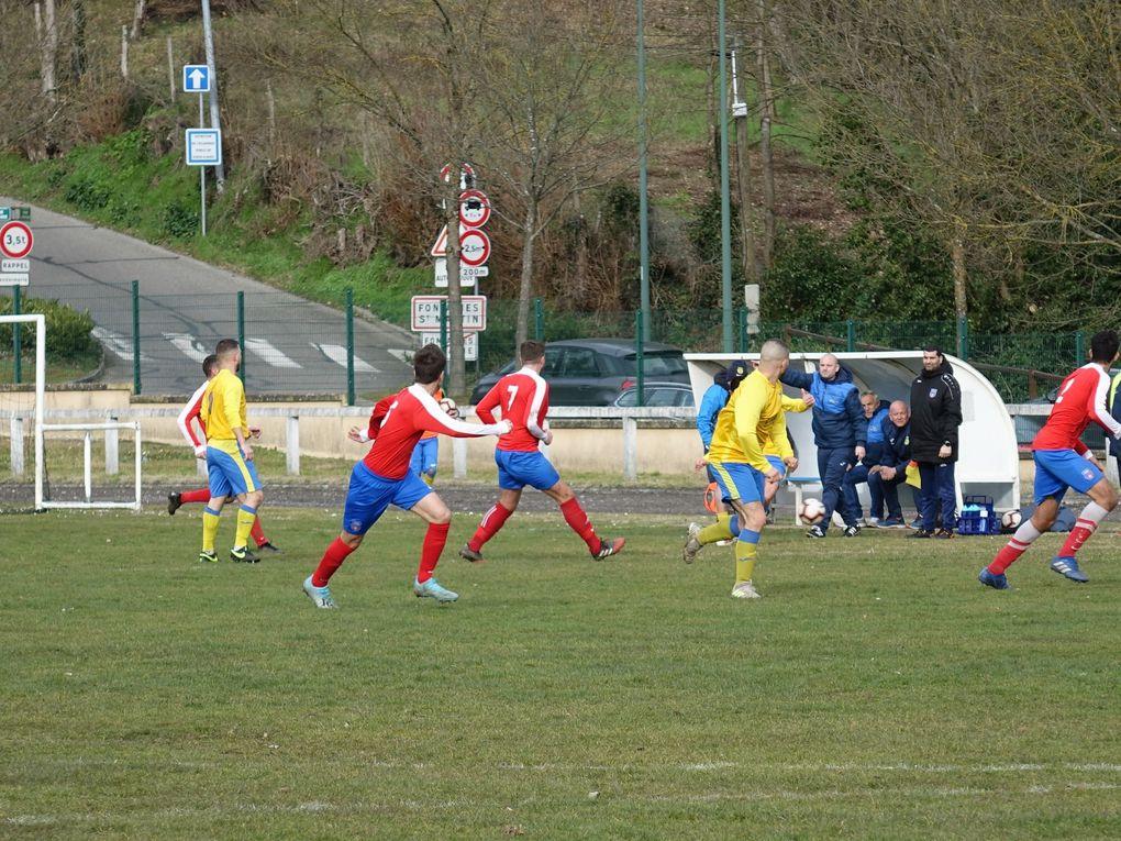 Victoire des Seniors 1 contre le FC Tarare.