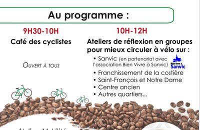 Bvas a signé une Convention de partenariat pour l'étude des pistes cyclables de Sanvic