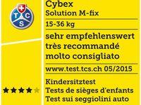CYBEX SOLUTION M-FIX SIEGE AUTO GROUPE 2/3