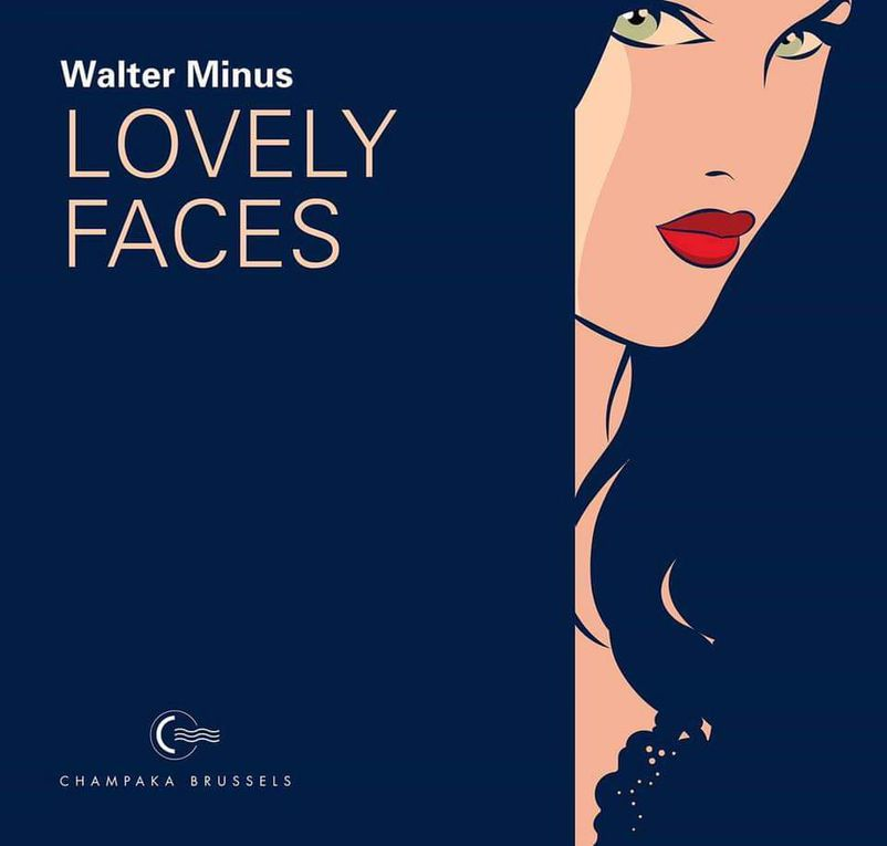 "Livre ""Lovely Faces"" de Walter Minus Editions Champaka Brussels/Dupuis 2018"