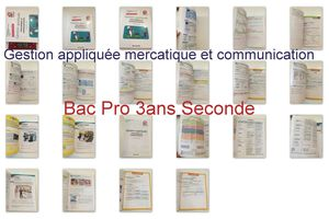 gestion bac pro seconde