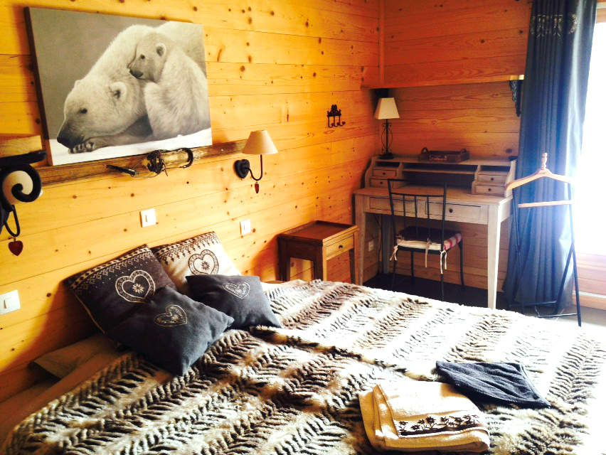 A STAY AT THE CHALET LES LOUPS, IN THE FRENCH ALPS