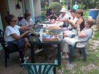 LA PROVENCE s'était invitée au jardin cet après-midi!!!