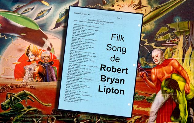👽♫ ROBERT BRYAN LIPTON - WHERE HAVE ALL THE MARTIANS GONE ? (1979)