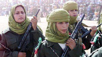 Maniobras militares del Frente Polisario en imágenes.- El Muni.