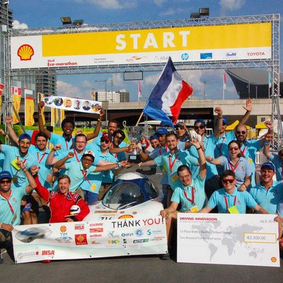 European Shell Eco-Marathon 2018