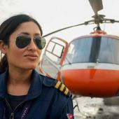 'Is your job a girl thing?' The lone female rescue pilot saving climbers from Everest