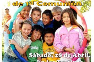 Convvencia de niños de comunión en las Teatinas
