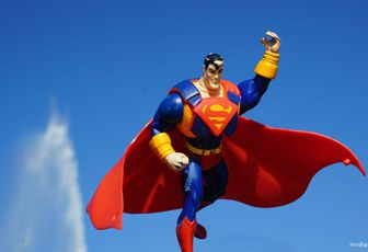 PROJET PHOTOGRAPHIQUE TOY DAY#26 Superman...