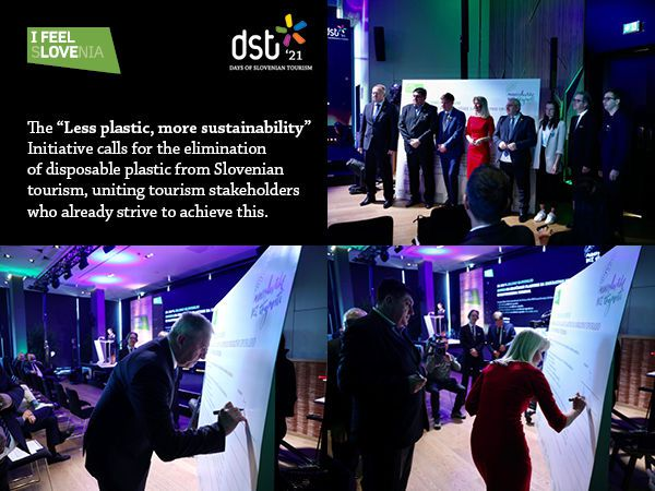 """Slovenia goes to a transformation with the """"Less plastic, more sustainability"""" initiative"""