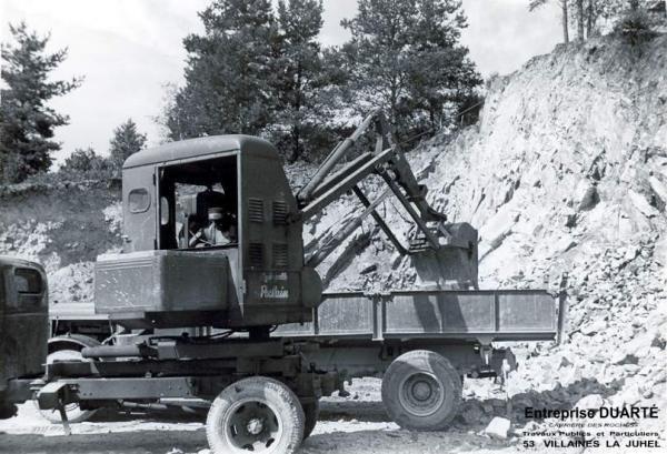 De la Poclain TU, achetée en 1957 au Michigan 85A