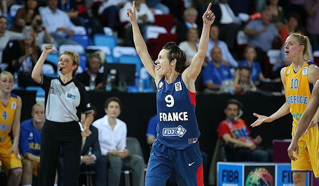 Céline Dumerc envoie la France en demi-finale