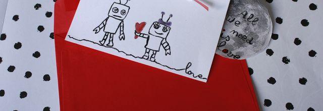 DIY :Faire une carte pour la St valentin