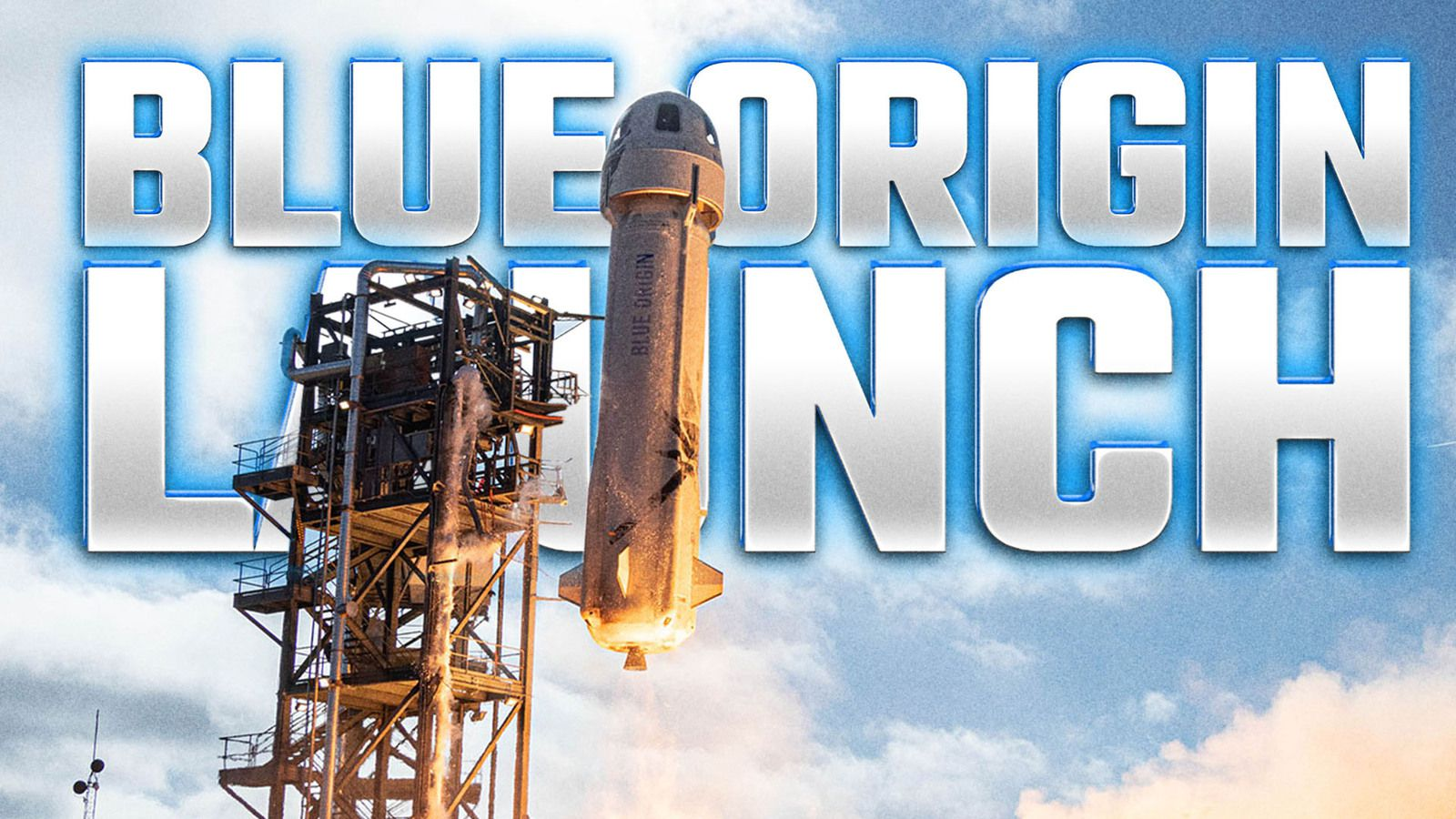JEFF BEZOS Travels To Space With Blue Origin Launch. What will happen ?(🔴 LIVE)