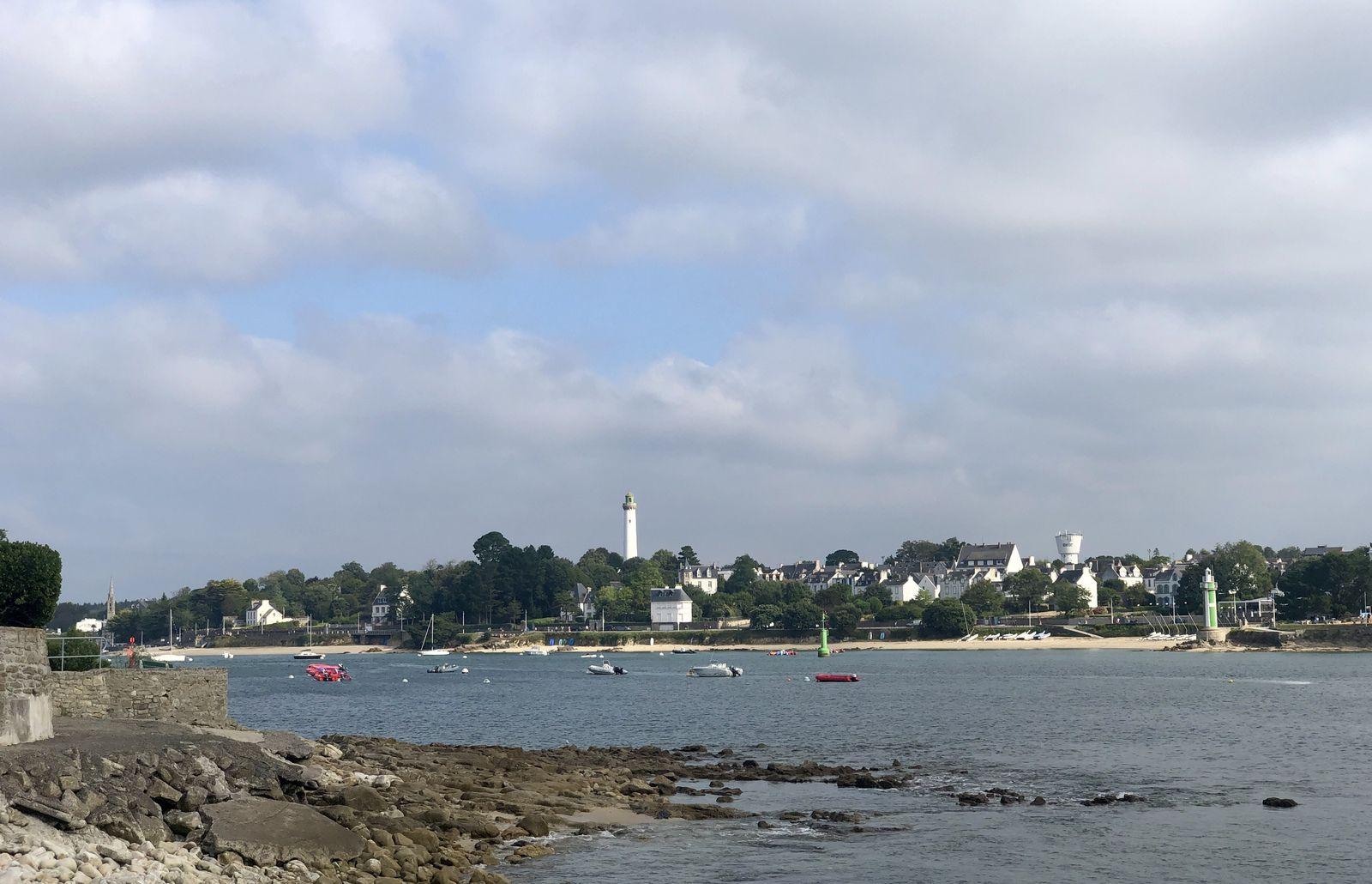 De L'Ile Tudy à Sainte Marine et retour 12 km