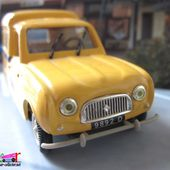 FASCICULE HORS SERIE N°3 RENAULT R4 F4 FOURGONNETTE LA POSTE NOREV 1/43 - car-collector