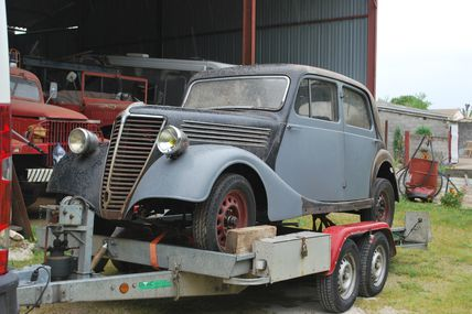 Restauration Renault Novaquatre 1939