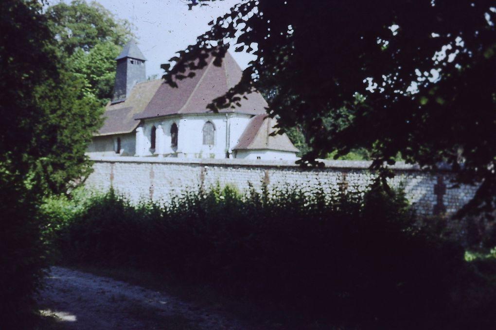 Le potager de la colonie de vacances du château d'Hautot sur Seine