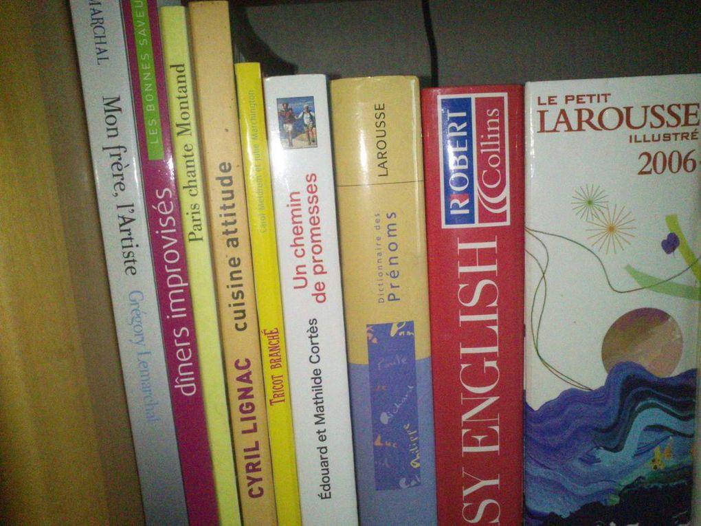 Une bibliothèque à l'image de ma vie