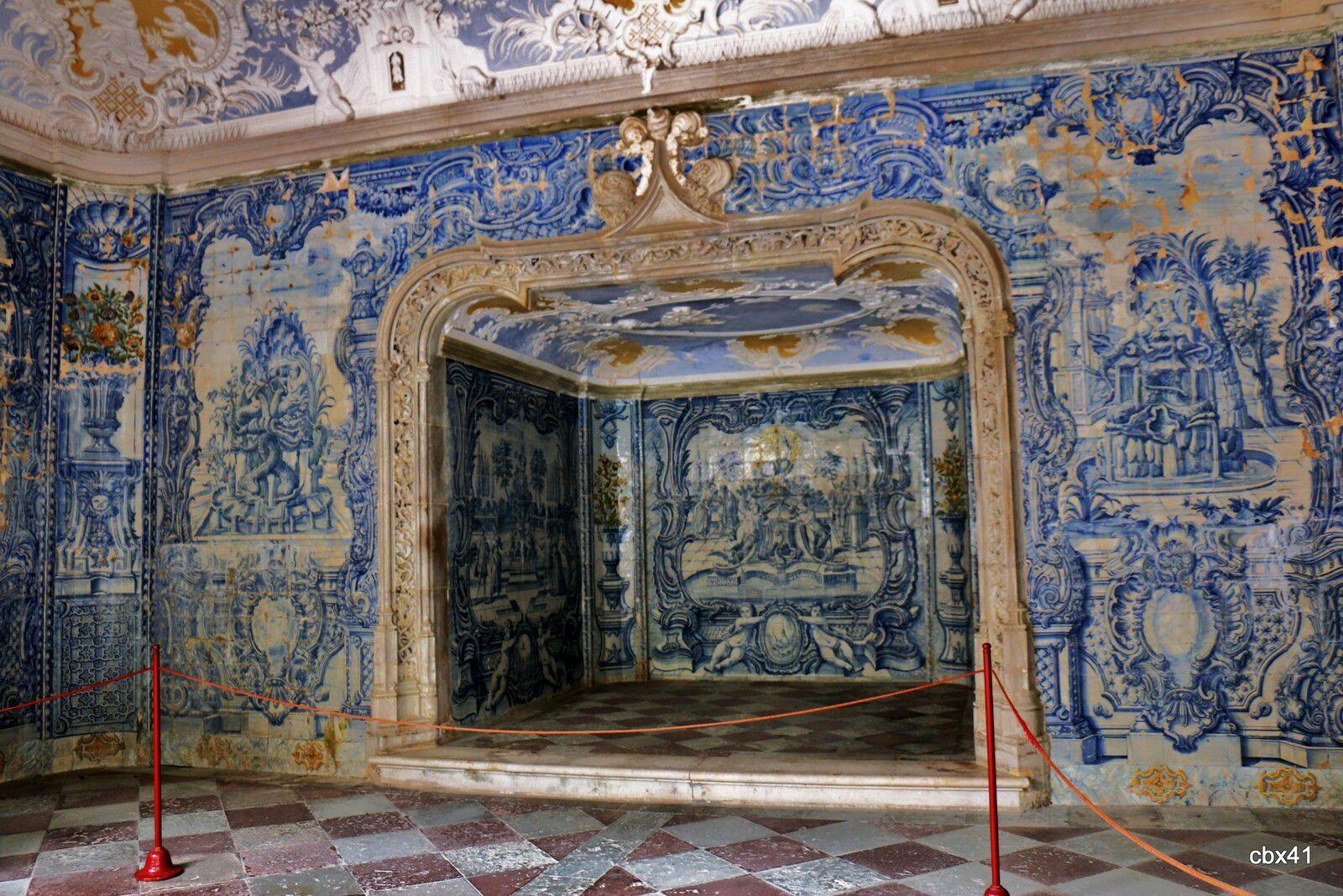 Grotte des bains, Palais National de Sintra (Portugal)