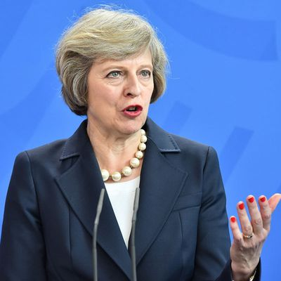 Brexit Britain sidelined as Theresa May not invited to migration crisis summit