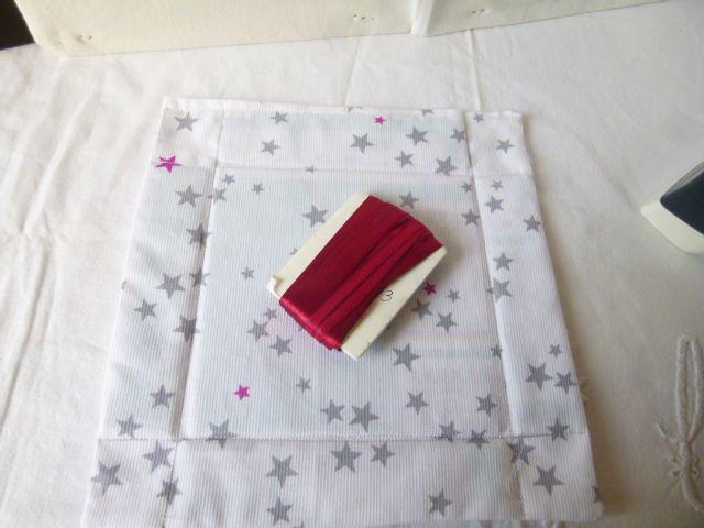 petit plateau en tissu pour apéro