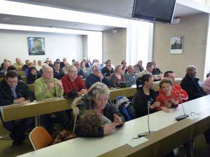 Beaucoup de monde à l'assemblée générale