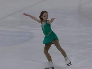 Repetition de competition de patin a glace