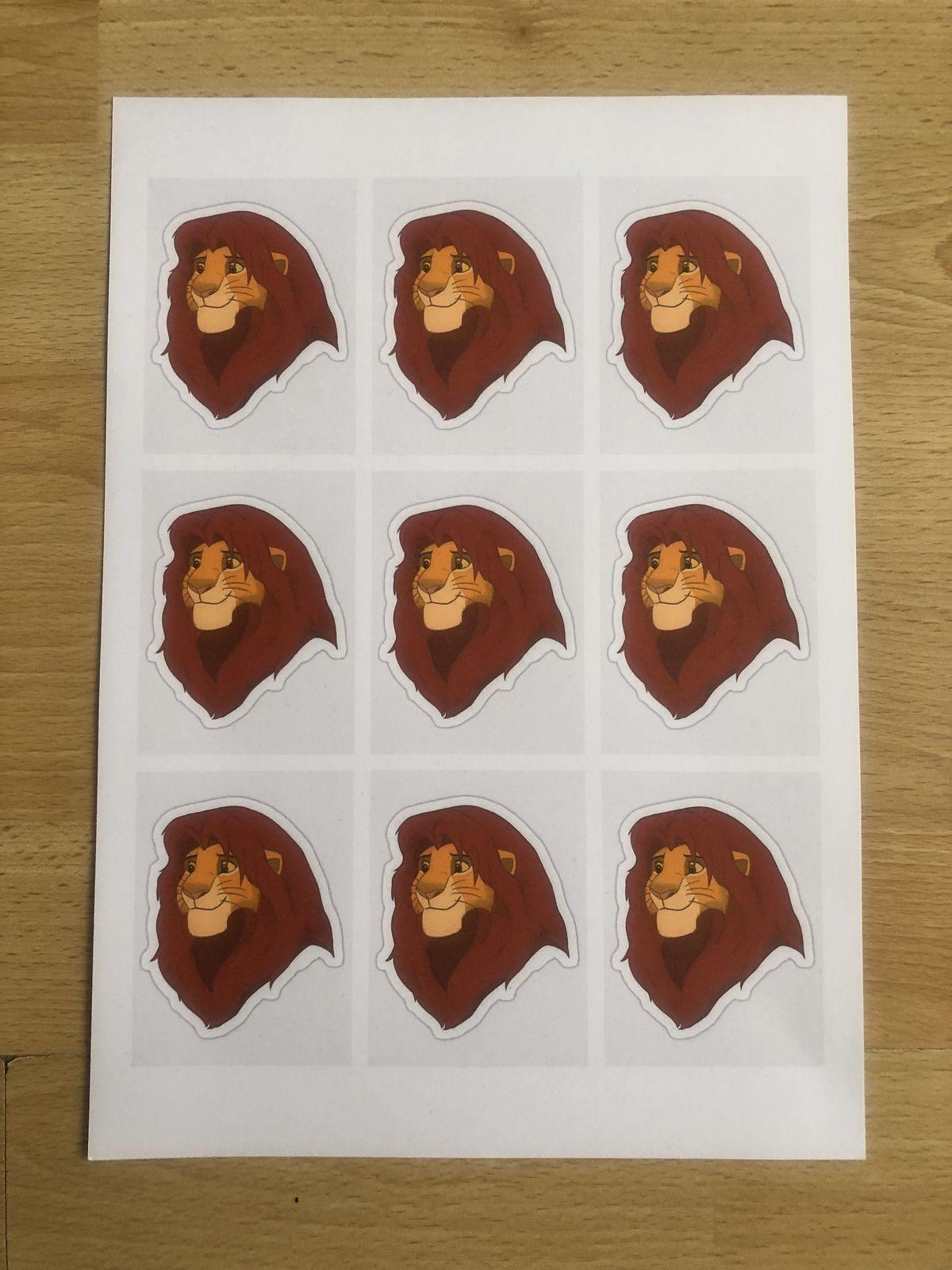 Contenant à bonbons Le Roi Lion