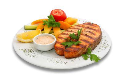 Bon appétit - Nourriture - Poisson - Légumes - Citron - Photographie - Wallpaper - Free