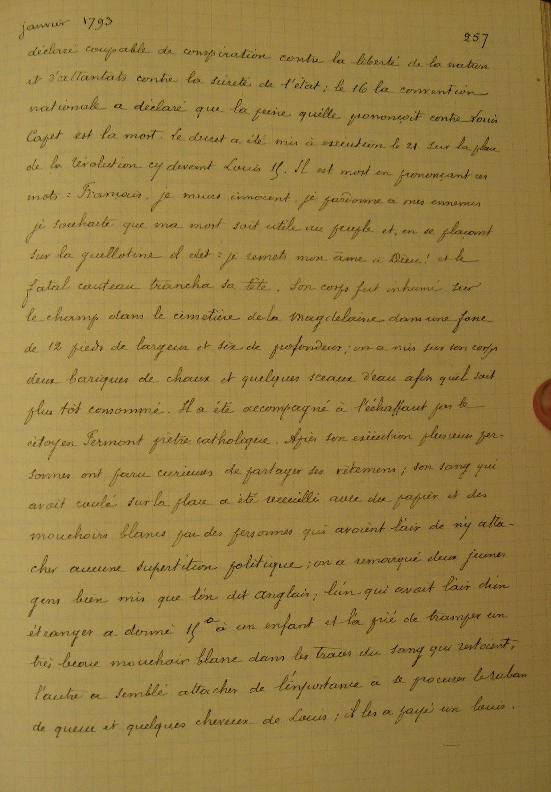 """Pour conclure ce voyage dans notre temps, via la transcription des écrits de """" Marillet """" par Dangibaud, voici.. sa signature, une des feuilles originales de ses écrits, enfin un autre livre qui ne demande qu'à survivre, mais ce n'est pas gagné."""