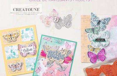 Préparez-vous pour une envolée de papillons!
