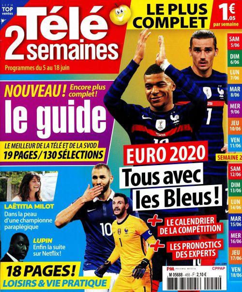 Presse TV, la une de 10 nouveaux numéros : Julien Courbet, Ophélie Meunier, Laëtitia Milot,...