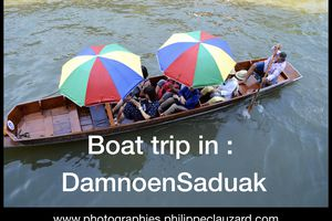 Boat Trip in DamnoenSaduak, Thaïlande