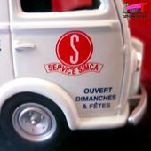 FASCICULE N°95 PEUGEOT D3A SERVICES SIMCA IXO 1/43. - car-collector.net