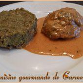 Joue de porc et sa sauce chorizo - Cuisine gourmande de Carmencita