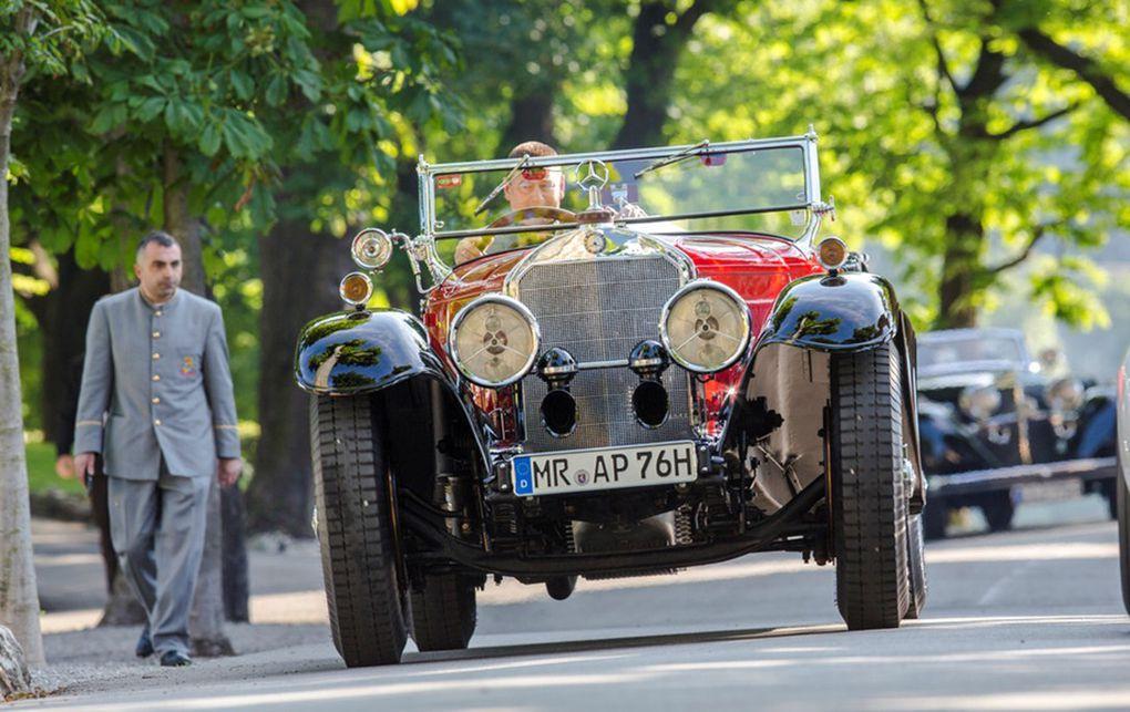 VOITURES DE LEGENDE (547) : MERCEDES-BENZ   710  SS  20/160/200 TOURER - 1930