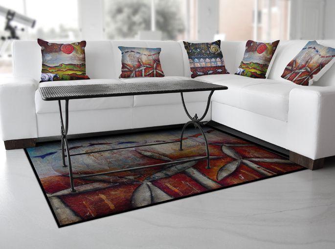À commander en ligne : Artissu pour vos coussins, chemin de table, tapis...et Sam'Oz avec une collection de motifs originaux  pour vos propres créations couture ou déco.