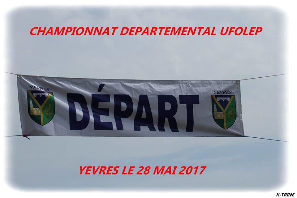 Album photos des championnats départementaux UFOLEP de Yèvres et tous les classements