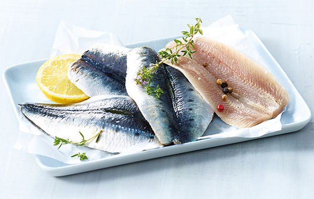 Filets de sardine olive et citron
