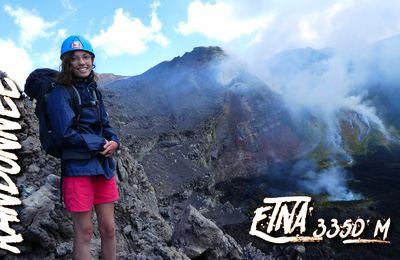 Ascension de l'Etna 3350 m