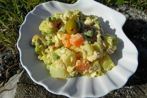 SALADE RUSSE ( thermomix )