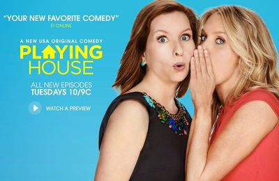 Critiques Séries : Playing House. Saison 2. BILAN.